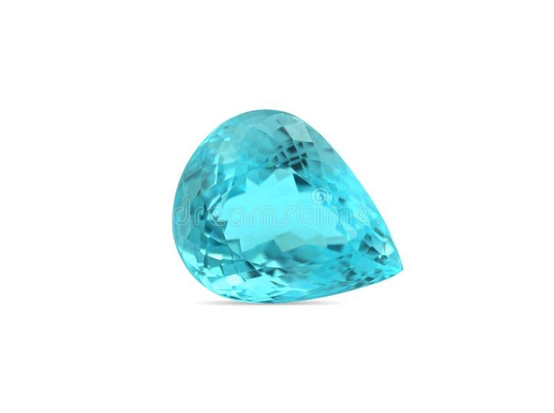 Natural Paraiba Tourmaline gemstone stock images