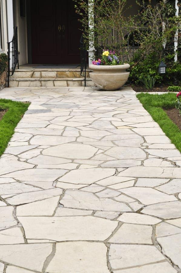natural path stone στοκ φωτογραφία