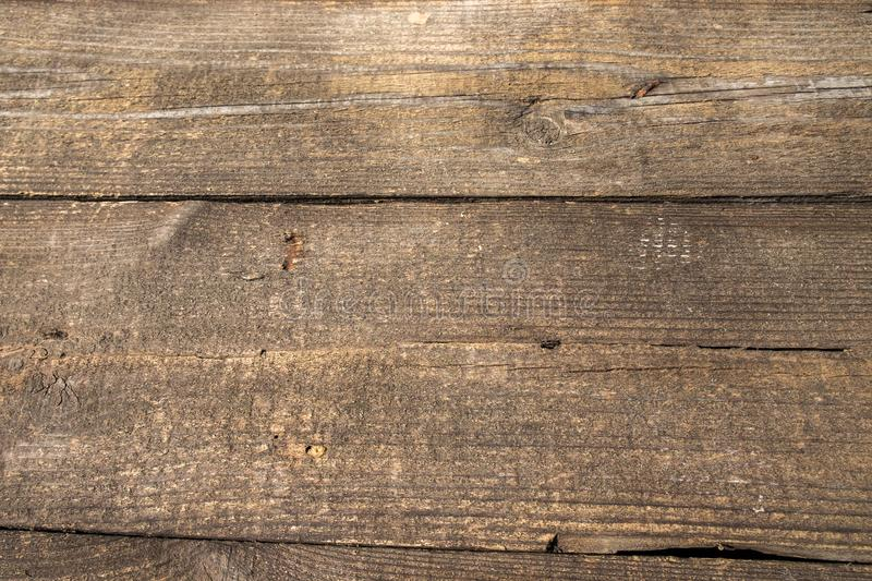 Natural pattern old wood surface. Textured background for product and food composition with space for text. royalty free stock image