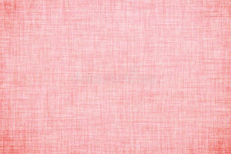 Natural pink colored linen texture or vintage canvas background. Natural pink colored linen texture or grunge vintage canvas background stock illustration