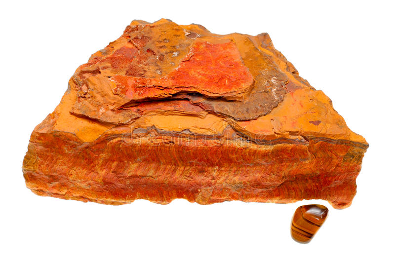 Download Natural And Polished Tigers Eye Mineral Specimens Stock Photo - Image: 18336990