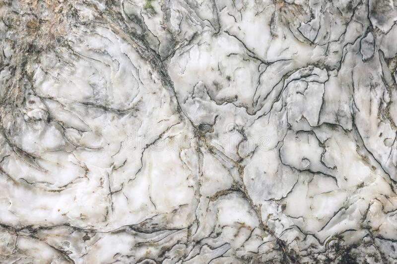 Natural raw marble texture. Marble wallpaper background. White brown and grey stone texture for design pattern artwork royalty free illustration