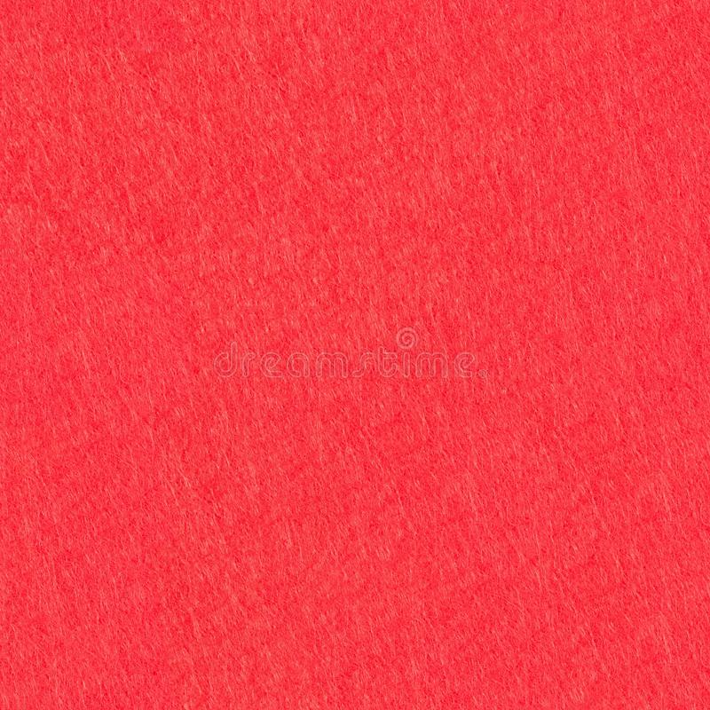 Natural red felt background. Seamless square texture, tile ready. High resolution photo stock photos