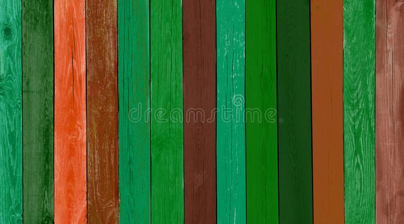 Natural Rustic Old Wood Board Faded Blue Background royalty free stock image