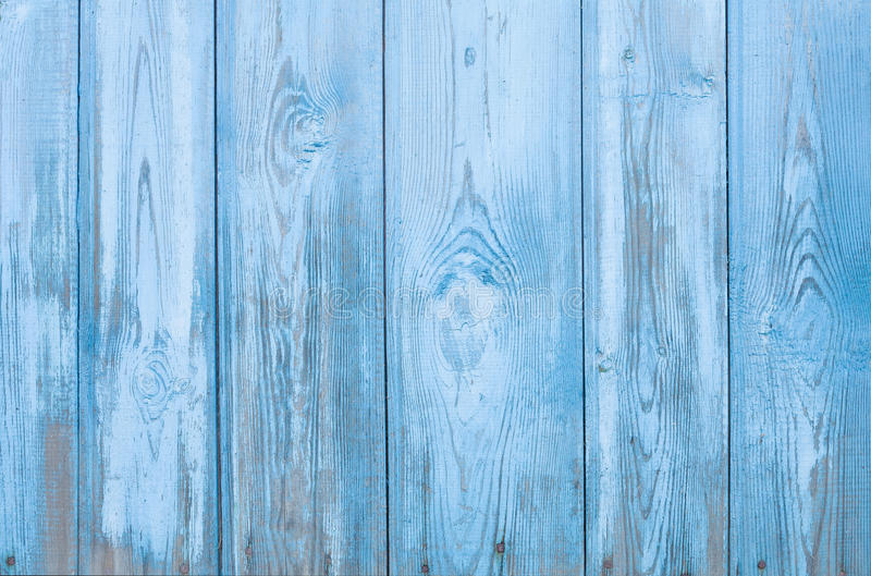 Download Natural Rustic Old Wood Board Shabby Blue Background Stock Image