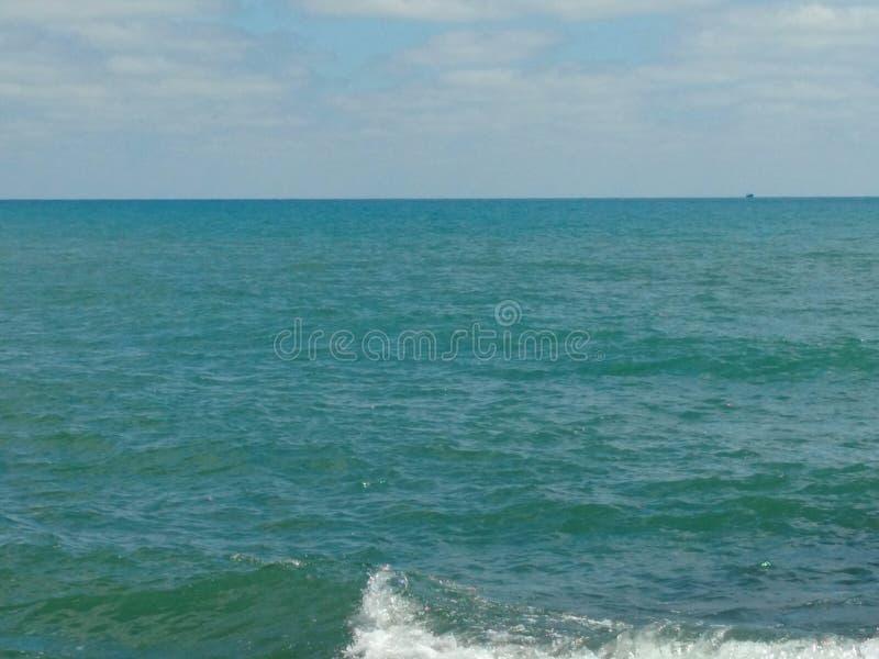 Natural sea stock photo