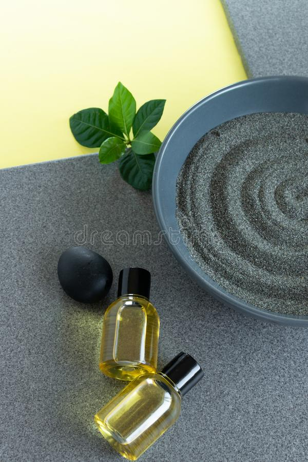 Natural skin care products, relaxing massage time . Healthy remedy. Natural skin care products,  relaxing massage time . Healthy remedy, wellness concepts stock photo