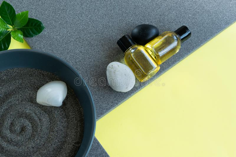 Natural skin care products, relaxing massage time . Healthy remedy. Natural skin care products,  relaxing massage time . Healthy remedy, wellness concepts stock image