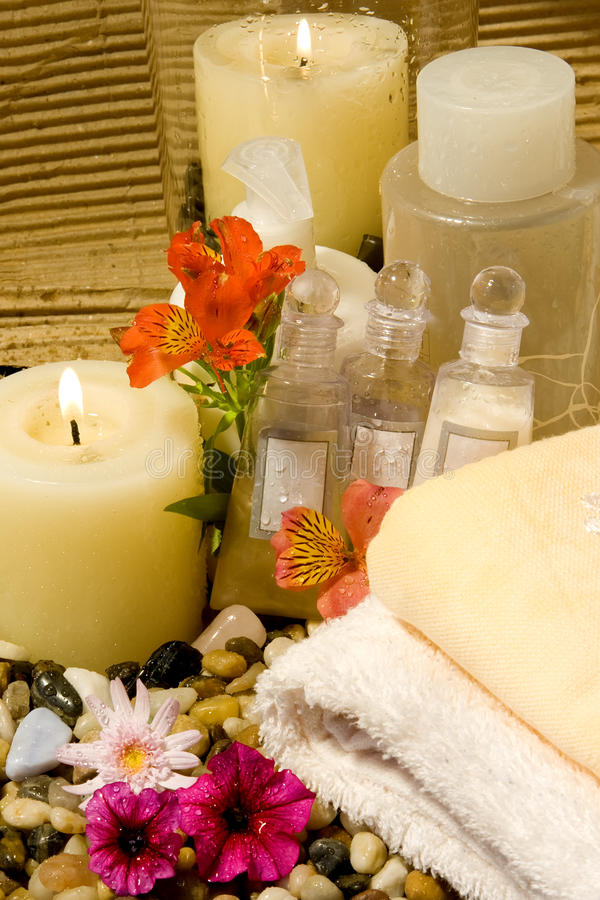 Download Natural Spa Products Stock Image - Image: 10451231