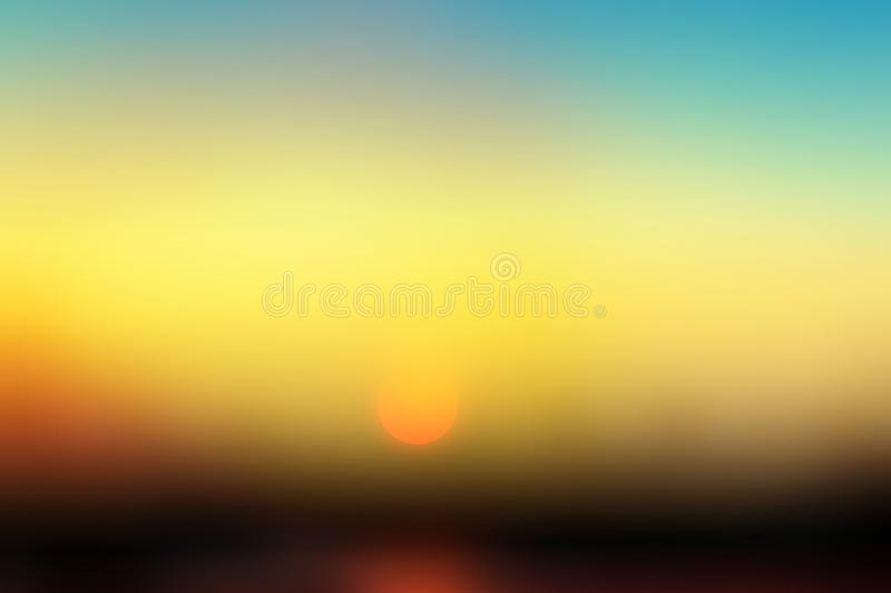 Natural spring backgrounds create light soft colors and bright sunshine a short time before sunset royalty free stock image