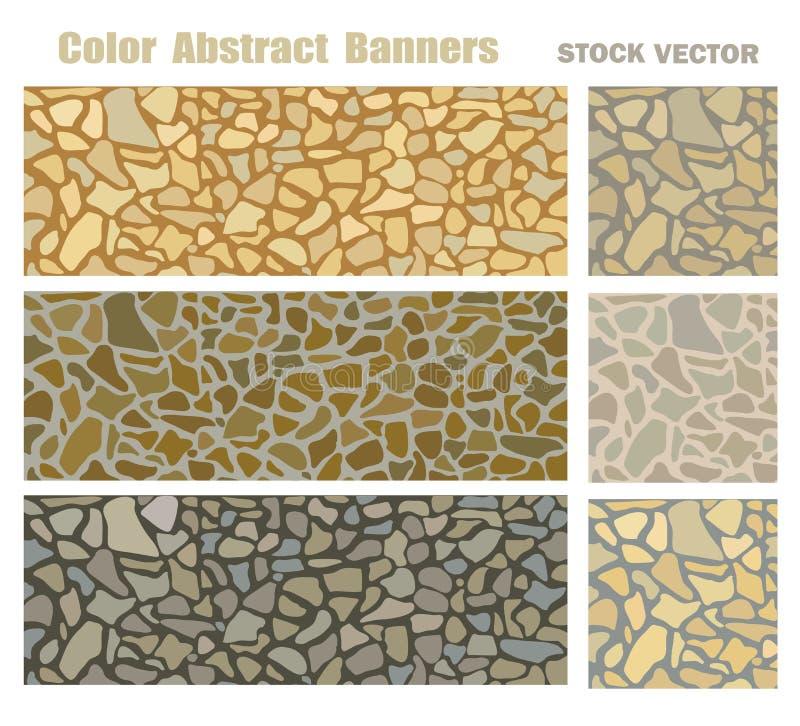 Natural stone stock illustration