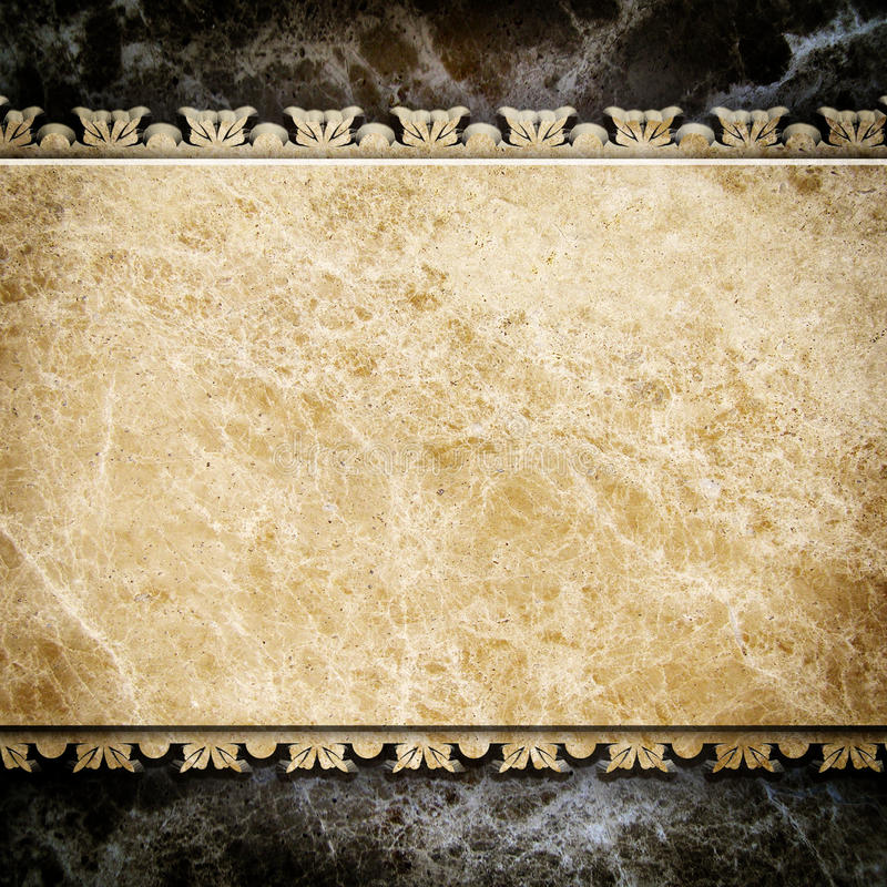 Natural stone background stock illustration