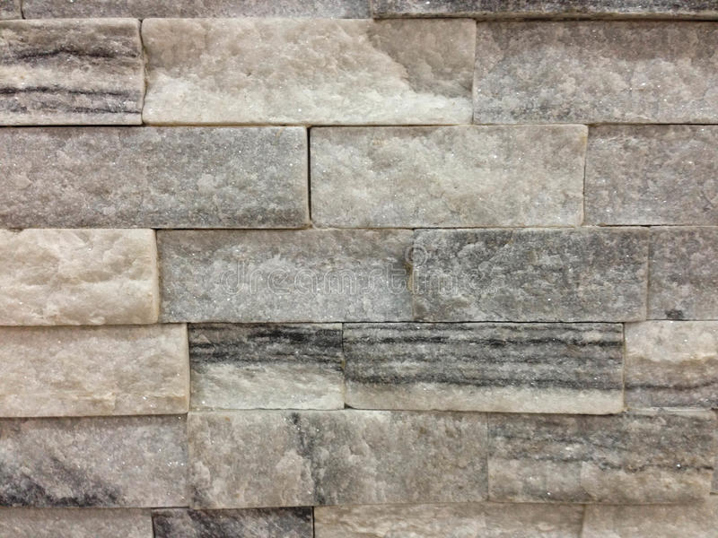 Natural stone granite pieces tiles for walls stock images
