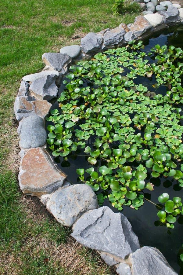 Natural Stone Pond Stock Photos