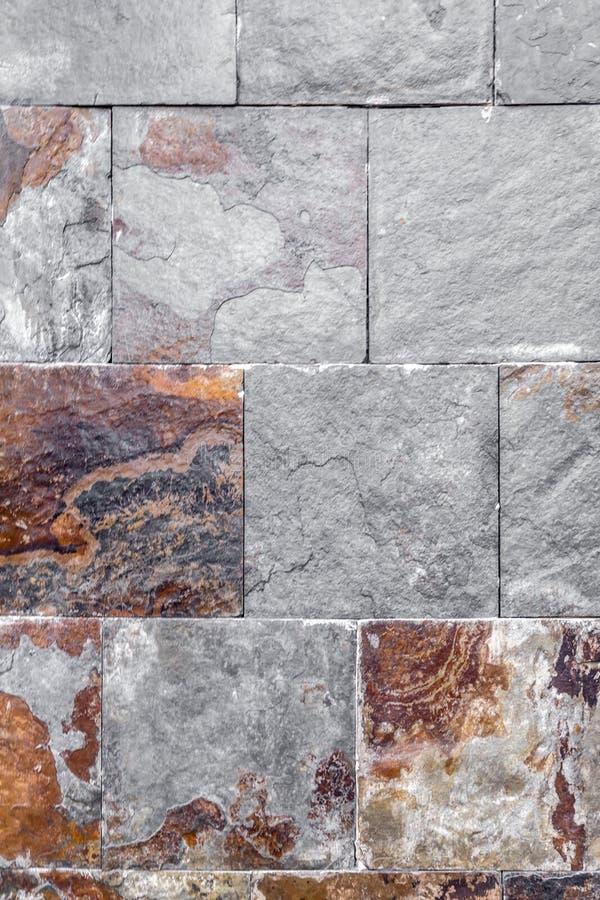 Natural stone tiles texture royalty free stock photo