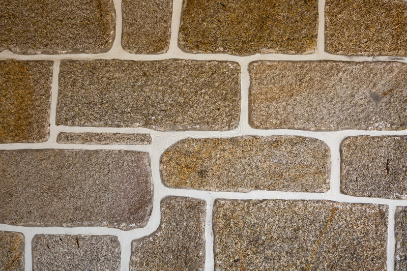 Natural stone wall. In Portugal royalty free stock photography
