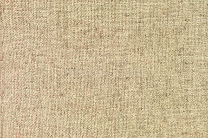 Natural textured horizontal grunge burlap sackcloth hessian sack texture, grungy vintage country sacking canvas, large detailed. Bright beige pattern macro royalty free stock photography