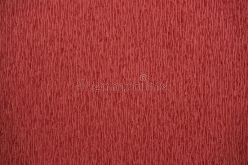 Natural textures red colors crepe paper 200 percent stretch royalty free stock photos