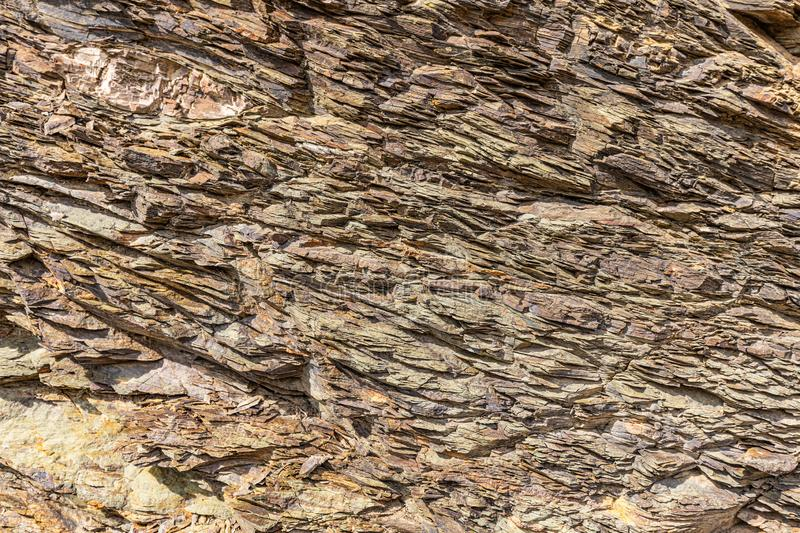 Natural volcanic stone texture. Rock texture and background. stock photo