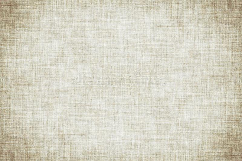 Natural white colored linen texture or vintage canvas background. Natural white colored linen texture or grunge vintage canvas background stock illustration