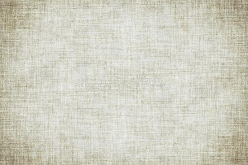 Natural white colored linen texture or vintage canvas background. Natural white colored linen texture or grunge vintage canvas background royalty free illustration