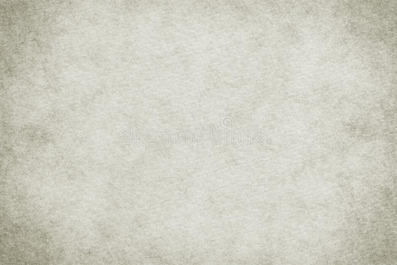 Natural white colored old paper texture or vintage canvas background stock photo