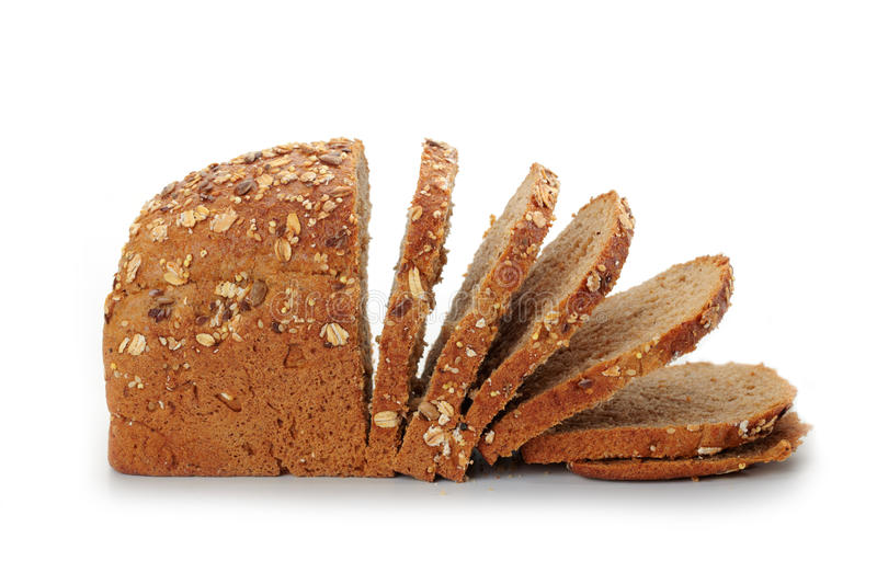 Download Natural whole grain bread stock image. Image of food - 27299573