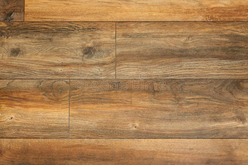 Natural wood laminate parquet floor background. Clean royalty free stock photo