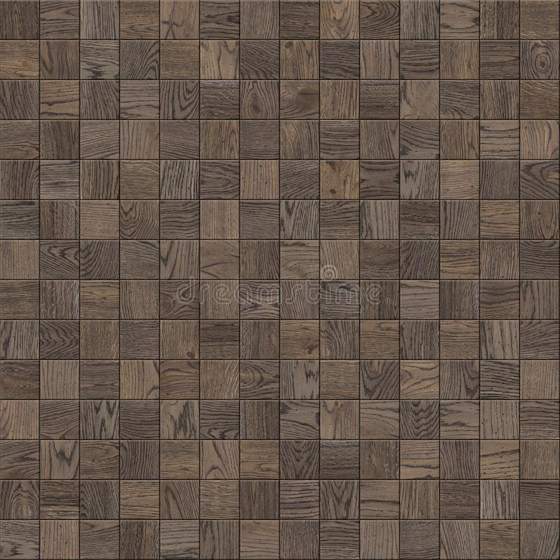 Natural wooden background, grunge parquet flooring design seamless texture checker royalty free stock photography