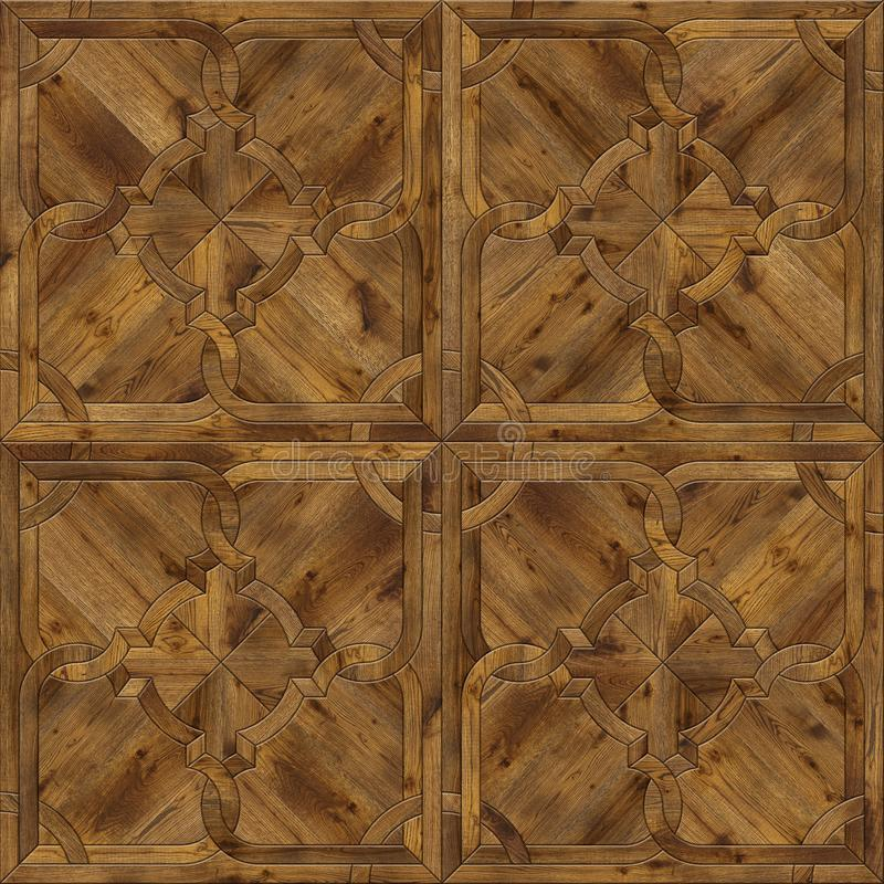 Natural wooden background, grunge parquet flooring design seamless texture stock images