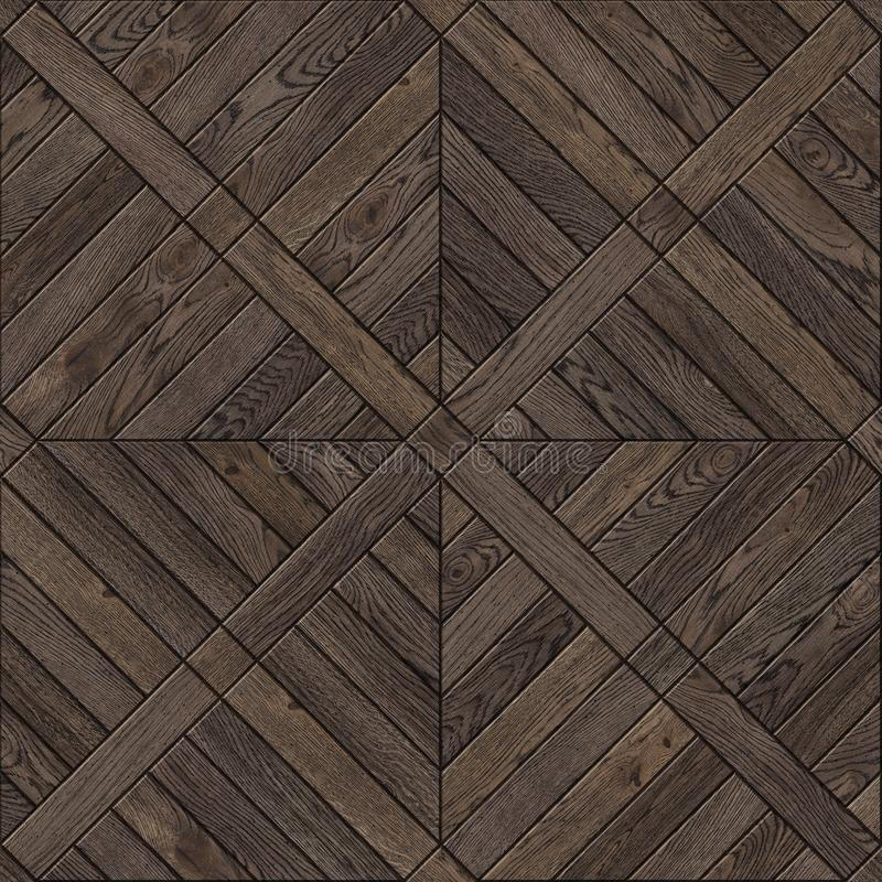 Natural wooden background, grunge parquet flooring design seamless texture royalty free stock photo