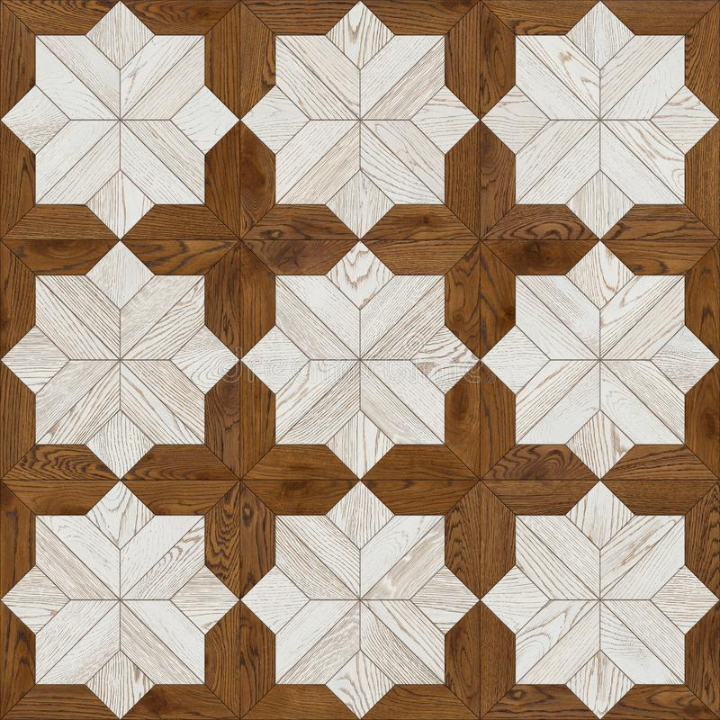 Natural wooden background, grunge parquet, flooring design seamless texture stock photo