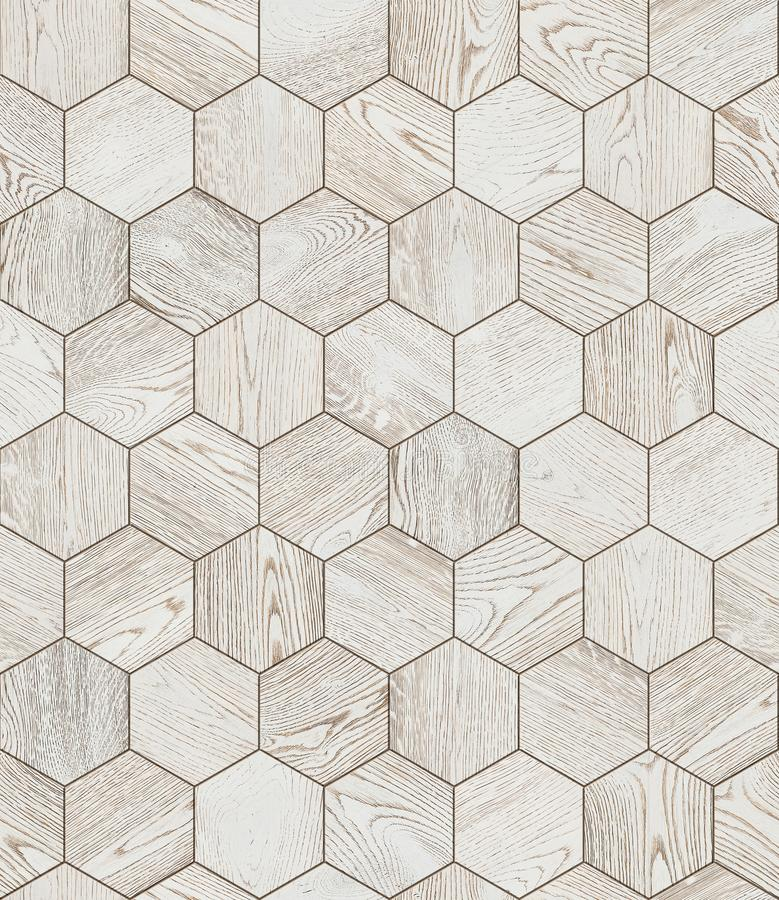 Natural wooden background honeycomb, grunge parquet royalty free stock photography