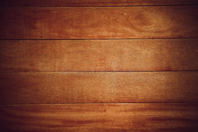 Natural wooden Board for interior and decoration of brown color stock image