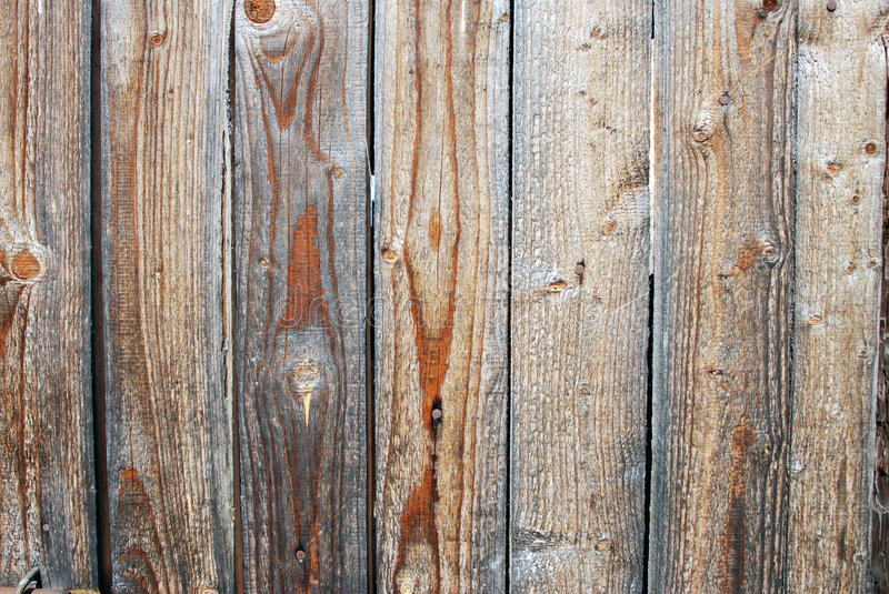 Natural wooden plank background stock image