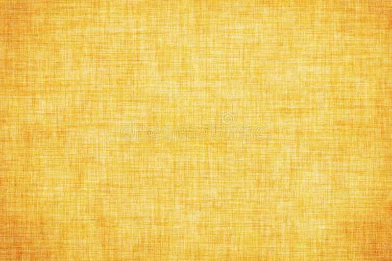 Natural yellow colored linen texture or vintage canvas background. Natural yellow colored linen texture or grunge vintage canvas background stock illustration