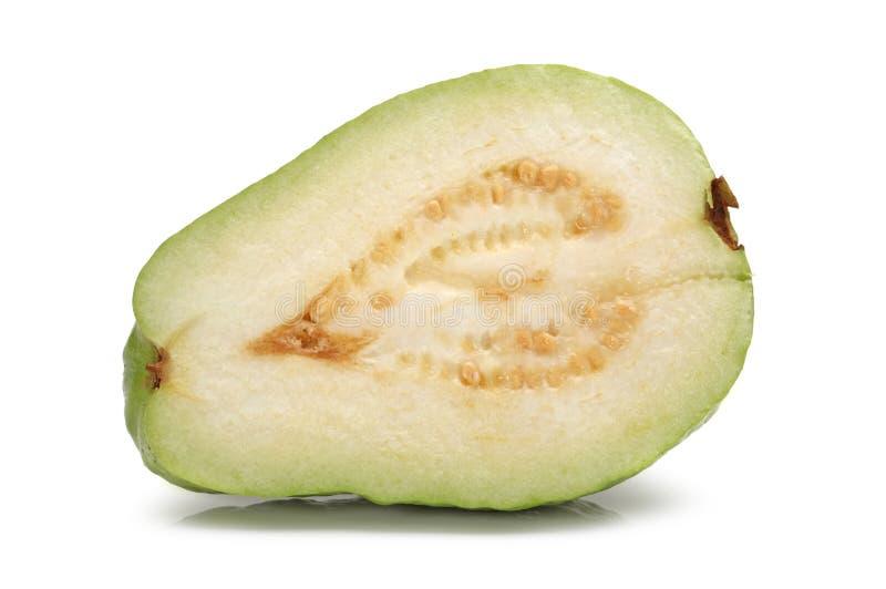 Naturale ed organico freschi dei frutti della zucchina centenaria fotografie stock libere da diritti