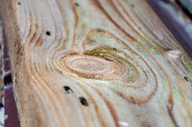 naturale le crepe ed i modelli su un bordo di legno anziano immagini stock