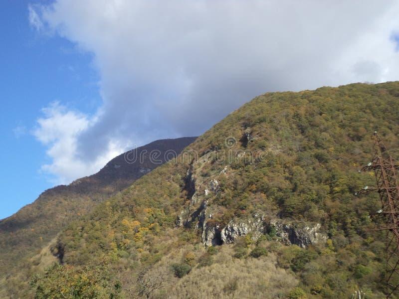 Naturaleza de Abjasia E imagen de archivo libre de regalías