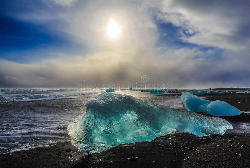 Naturaleza de Islandia foto de archivo