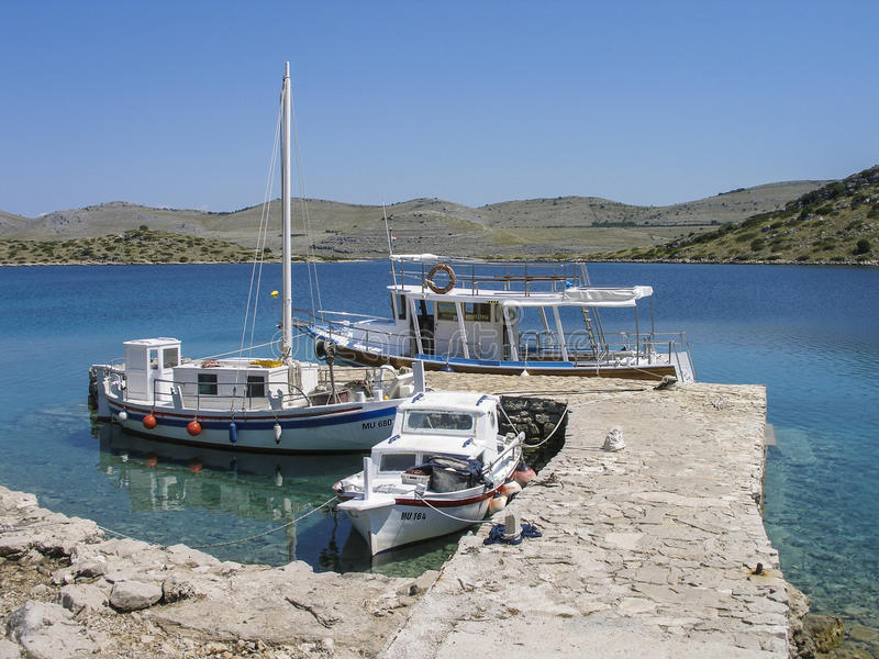 Naturaleza de Kornati fotos de archivo libres de regalías