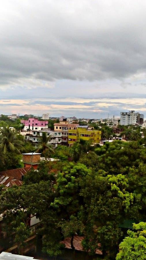 Naturaleza de la ciudad imagen de archivo libre de regalías
