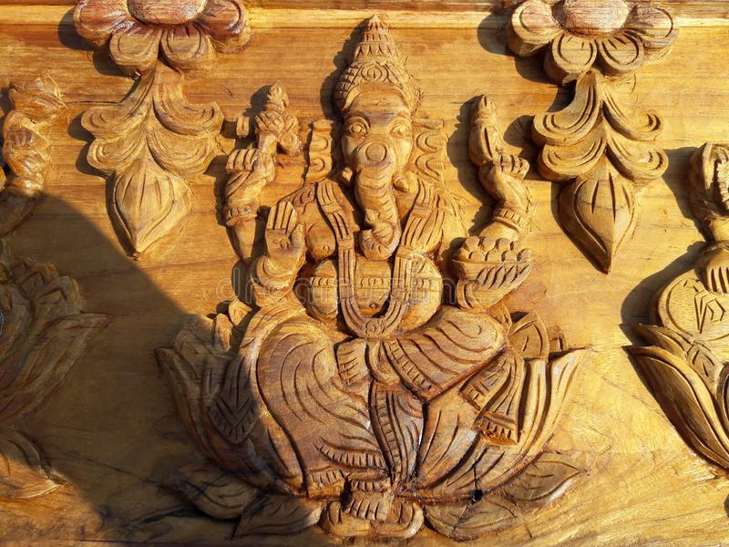 Naturaleza de madera del trabajo de arte foto de archivo