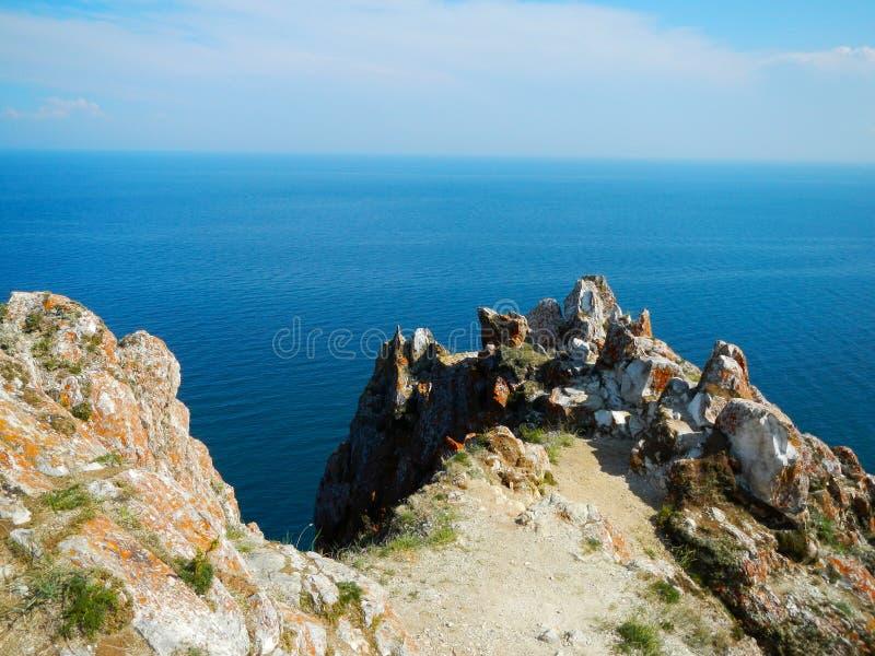 Naturaleza de Olkhon fotografía de archivo