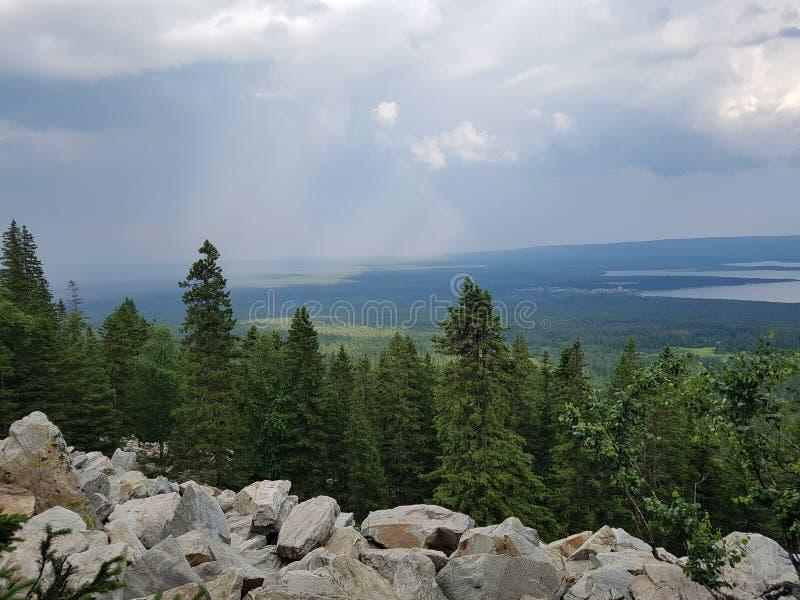 Naturaleza de Rusia foto de archivo libre de regalías