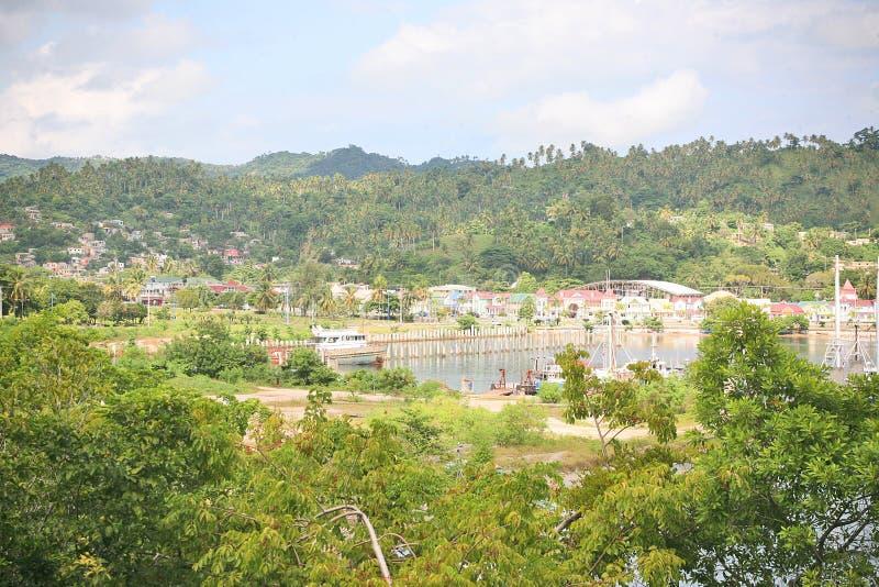 Naturaleza de Samana, República Dominicana de la Virgen fotografía de archivo