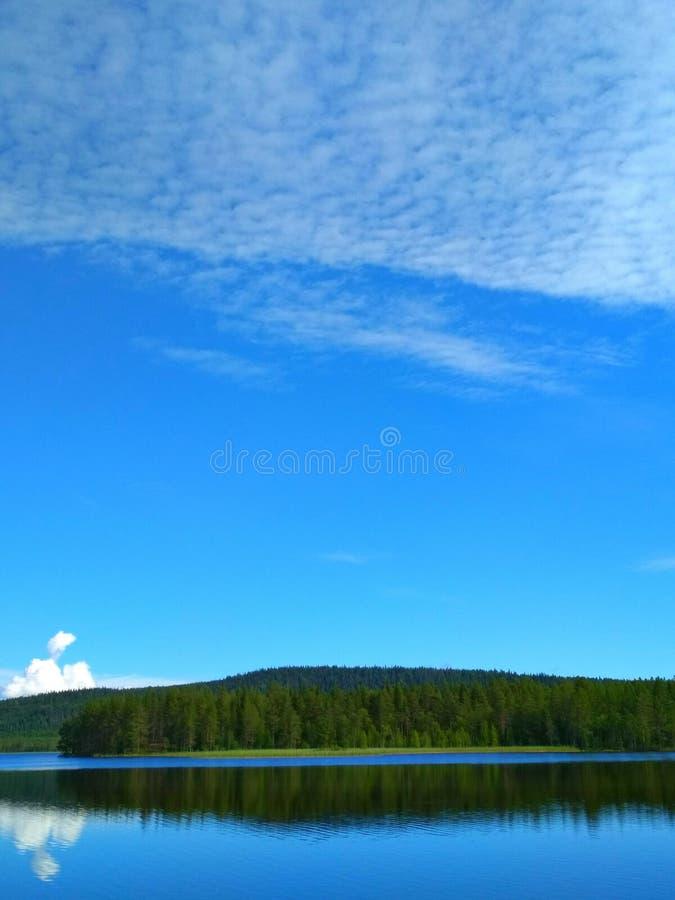 Naturaleza de Suecia foto de archivo