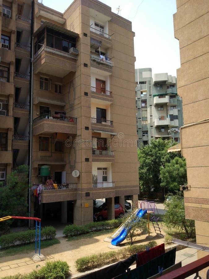Naturaleza del edificio al aire libre imagen de archivo