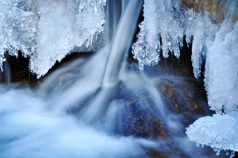 Naturaleza del invierno foto de archivo