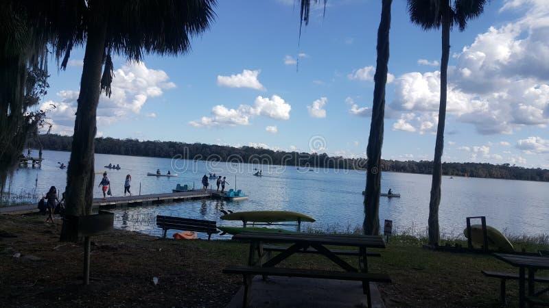 Naturaleza del lago fotografía de archivo libre de regalías